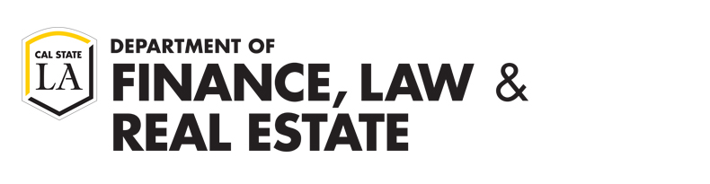 Cal State LA Department of Finance, Law, and Real Estate