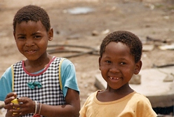 Children in Cape Town, South Africa