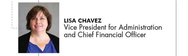Lisa Chavez Vice President for Administration and Chief Financial Officer