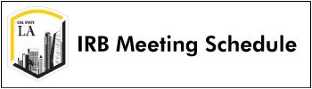 IRB-Meeting-Schedule
