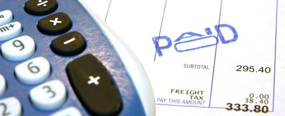 Pen and Paid Invoice