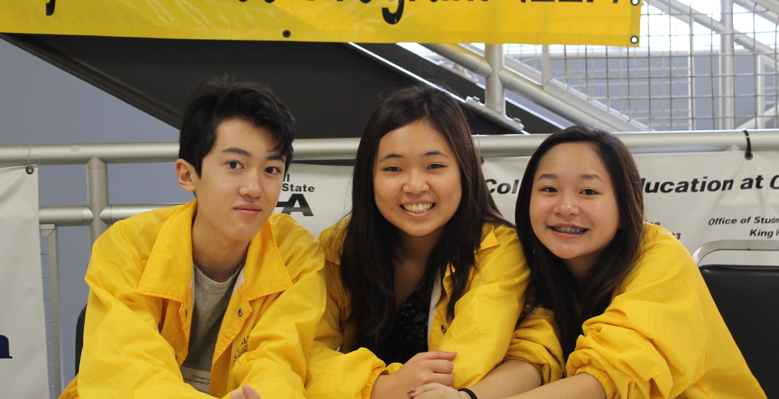 EEP Students at exam
