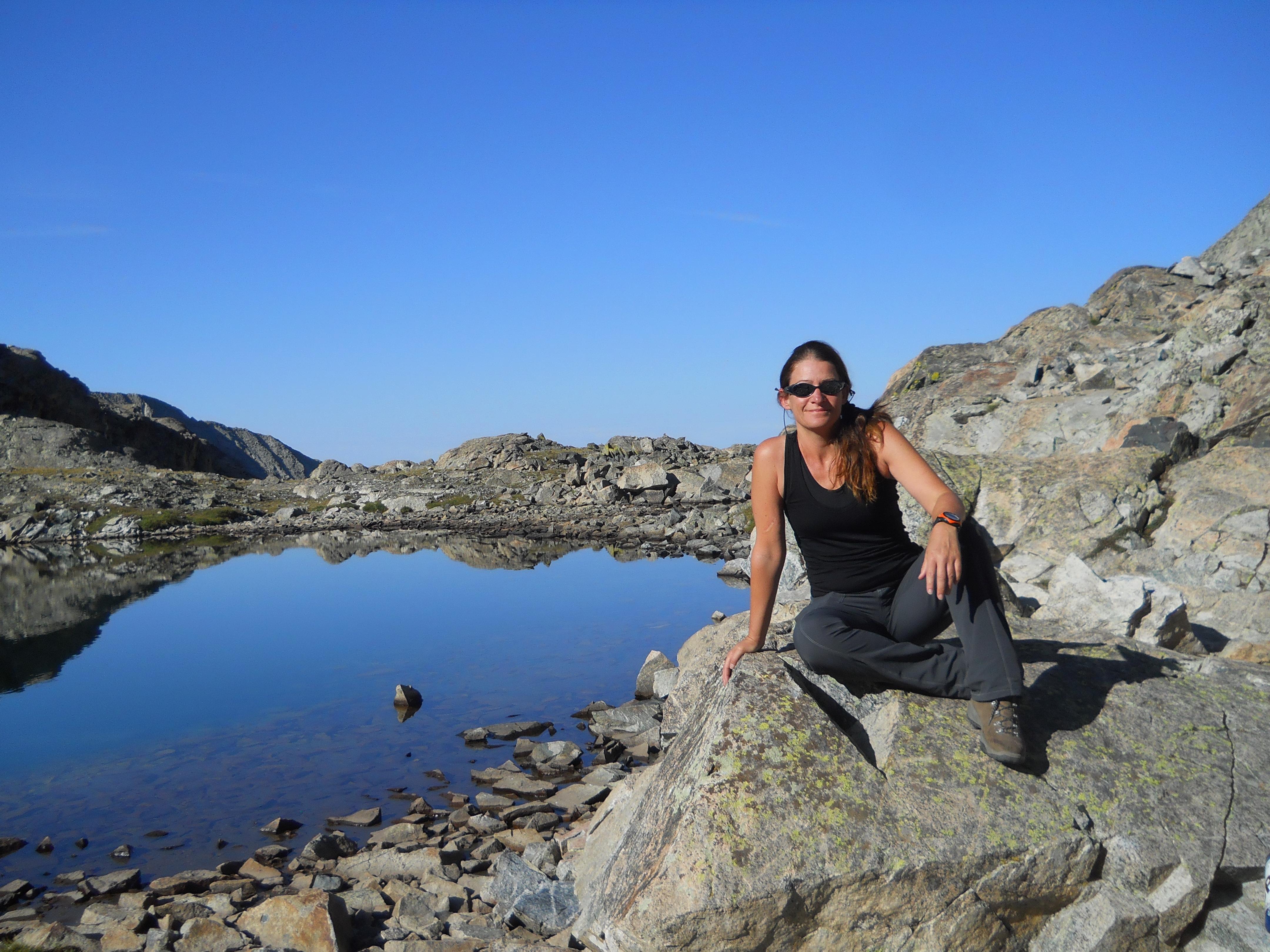 At Blanca Peak, CO