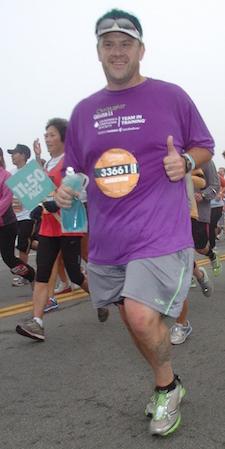 Harris running Nike Women's Marathon