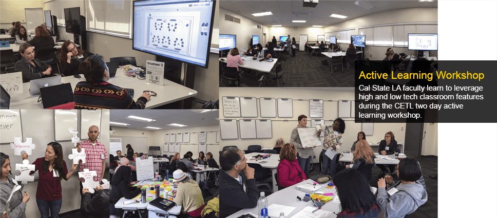 Winter 2016 Two Day Active Learning Workshop
