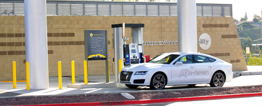 Audi using Cal State L.A's Hydrogen facility to fuel up