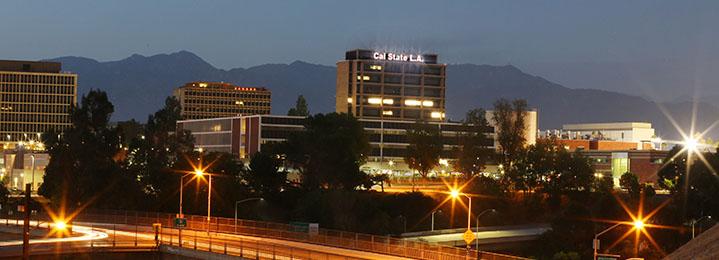 Cal State LA at Sunset