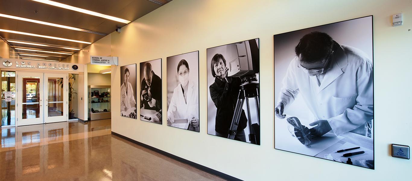 Photo of Lobby Of Hertzberg-Davis Forensic Science Center