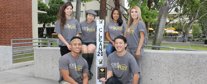 Cal State LA's Environmental team   Pacific Southwest Conference