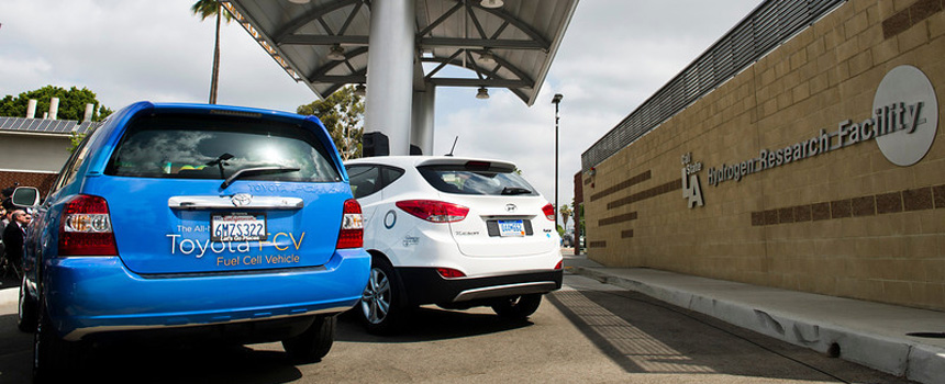 Cal State L.A. Hydrogen Station opening