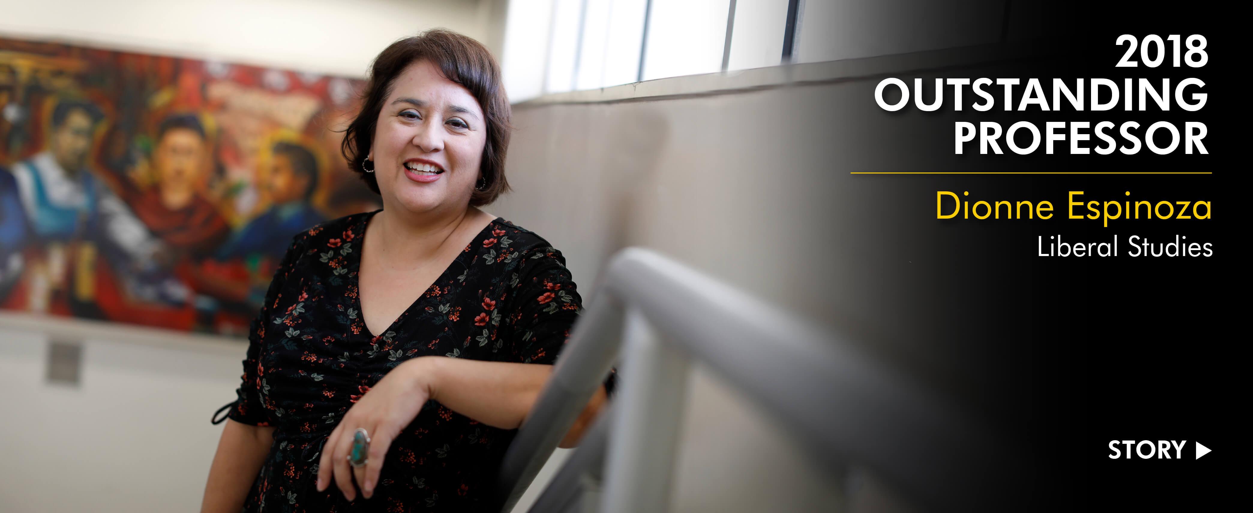 2018 Outstanding Professor Dionne Espinoza