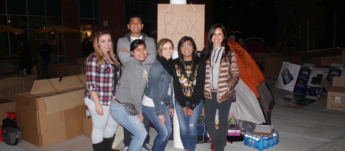 Students at Box City 2016 Photo 2