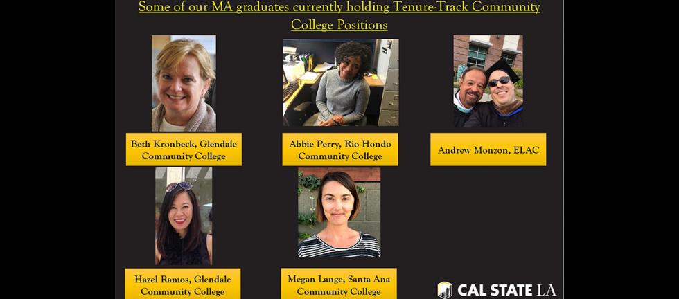 MA graduates