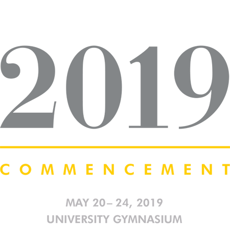 2019 Commencement Banner